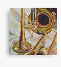 Brass at Rest Canvas Print