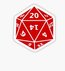 D&D20 Sticker
