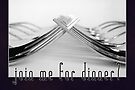Join Me for Dinner (Card) by Tracy Friesen