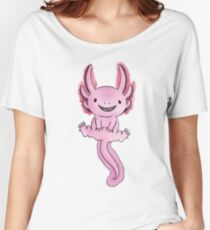 Happy Axolotl- Version 1 Women's Relaxed Fit T-Shirt