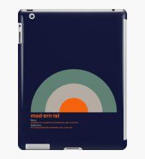 Modernist Target iPad Case/Skin