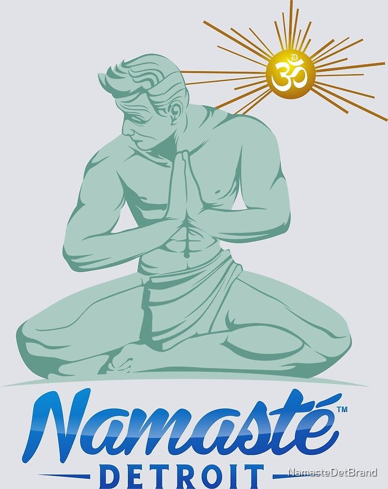 Namaste Detroit Full Color by NamasteDetBrand