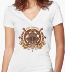 Champion of Capua Women's Fitted V-Neck T-Shirt