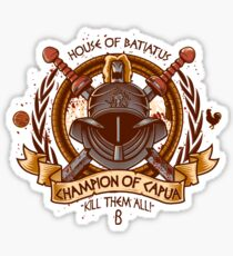 Champion of Capua Sticker