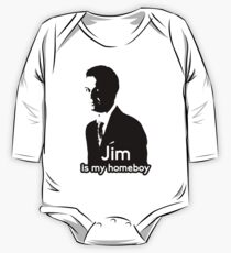 Jim is My Homeboy One Piece - Long Sleeve