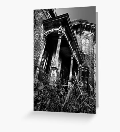 THIS HOUSE SITS ALONE... Greeting Card