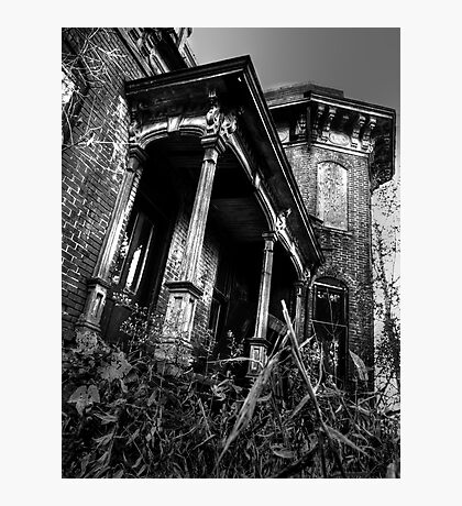 THIS HOUSE SITS ALONE... Photographic Print