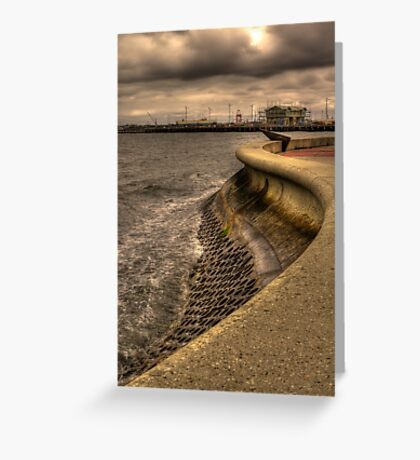 Port Melbourne Greeting Card