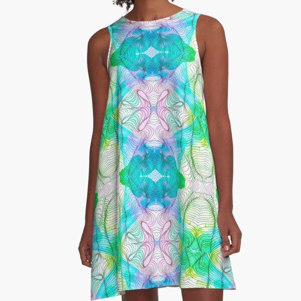 Murmurs 2 A-Line Dress