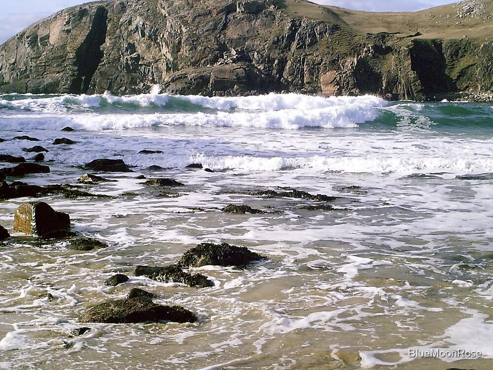 Rocky Shore - Hebridean Seascape by BlueMoonRose