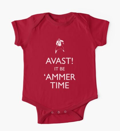 AVAST! (Keep Calm) It be 'ammer Time Kids Clothes