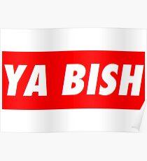 "Kendrick Lamar ""YA BISH"" OBEY Style Poster"