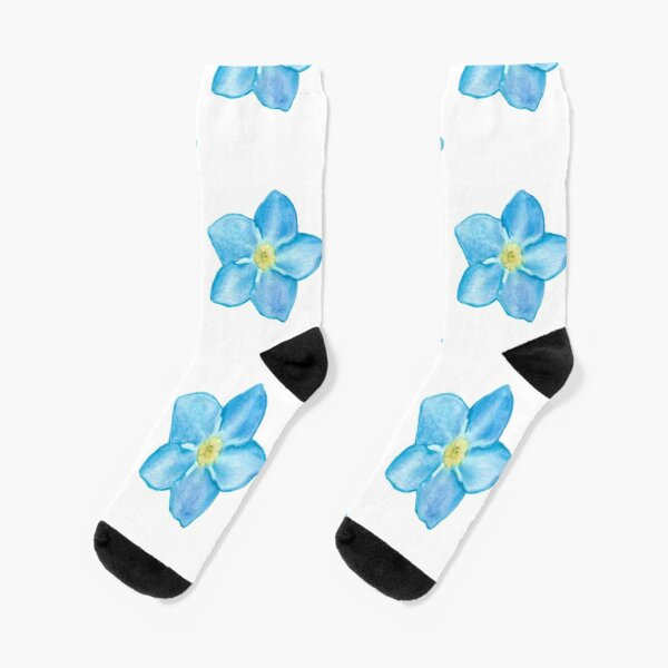 Forget me not Socks