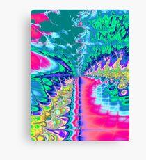 Digital Arcade Canvas Print