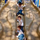 Liam on the Slide by Benjamin Sloma