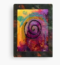 The Path to my Heart SPARKLES with Love Canvas Print