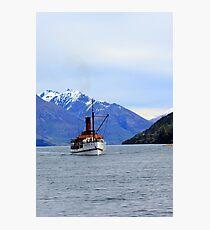TSS Earnslaw Steamship Photographic Print