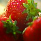 Strawberries by Ulla Jensen