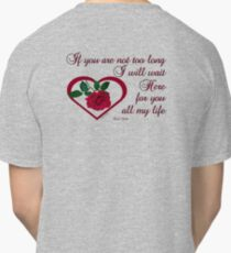 Forever My Love Classic T-Shirt