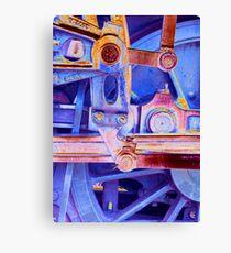 Steam Engineering Canvas Print