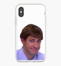 Vinilo o funda para iPhone Jim's Smirk: la oficina