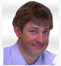 Jim's Smirk - The Office Poster