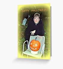HALLOWEEN  Have fun reading the story to the pic Greeting Card