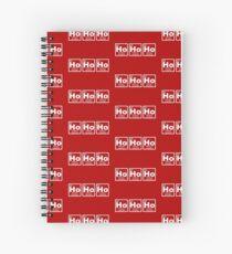 Ho Ho Ho - Christmas - Santa Claus - Periodic Table Spiral Notebook