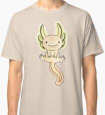 Golden Axolotl- Watercolor Vector Classic T-Shirt