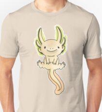 Golden Axolotl- Watercolor Vector Unisex T-Shirt