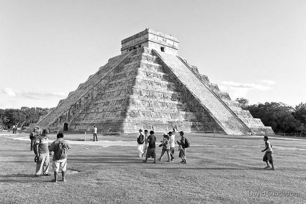 Chichen Itza by David Sundstrom
