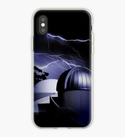 Raging sky iPhone Case
