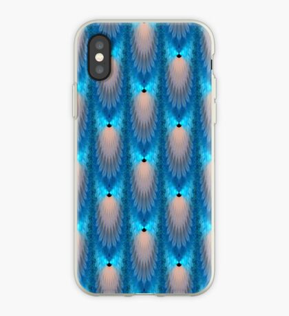 Electric Blue iPhone Case