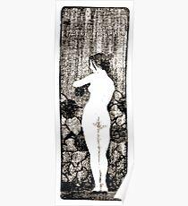 Paul Berthon Fille nue par Poster