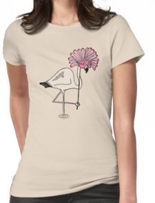 Over The Top? Womens Fitted T-Shirt