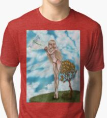 Let me go too? Tri-blend T-Shirt