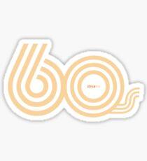 Born in the 60's Sticker