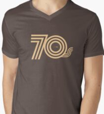 Born in the 70's Men's V-Neck T-Shirt
