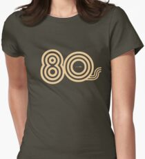 Born in the 80's Women's Fitted T-Shirt
