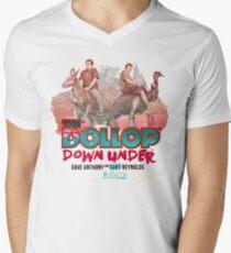 Der Dollop - Down Under (Australien-Variante) T-Shirt mit V-Ausschnitt für Männer