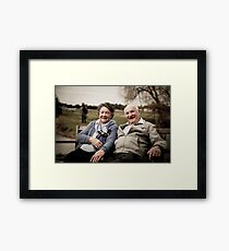Happy Couple 3 Framed Print