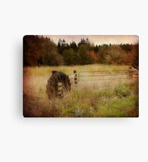 Rural Fence Canvas Print