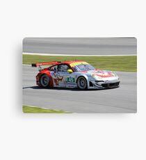 ALMS 2011 LRP Porsche 911 997 GT3 RSR Flying Lizard Canvas Print