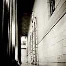 Black and White Columns in Dundee by marting04