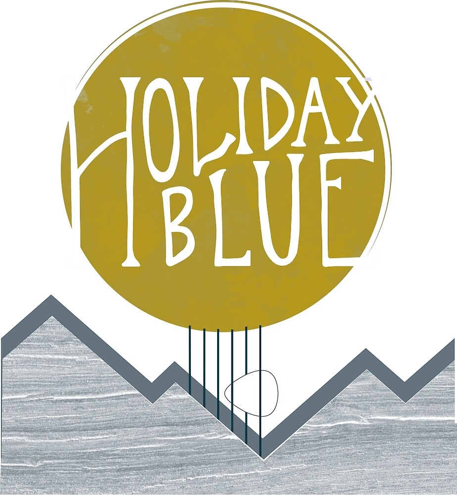 Holiday Blue by Marci Hohner