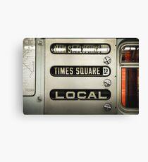 Lienzo Times Square Local