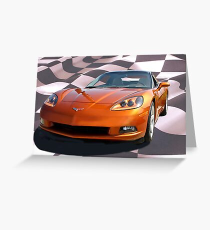 and the winner is... 2007 Corvette!  Greeting Card