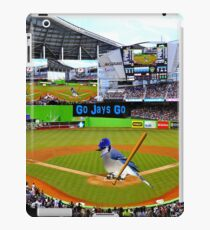 GO JAYS GO BLUEJAY BASEBALL APPAREL-PILLOW-JOURNAL-TOTE BAG-SCARF-PICTURE-ECT.. iPad Case/Skin