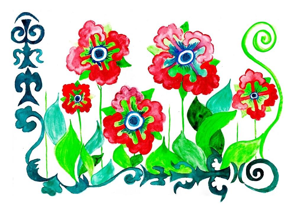 wildflowers by oyuornek
