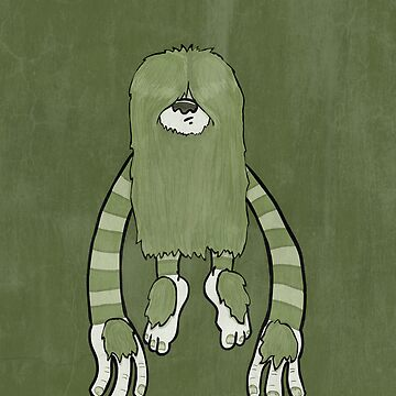 Clive the Bunyip by damienmason
